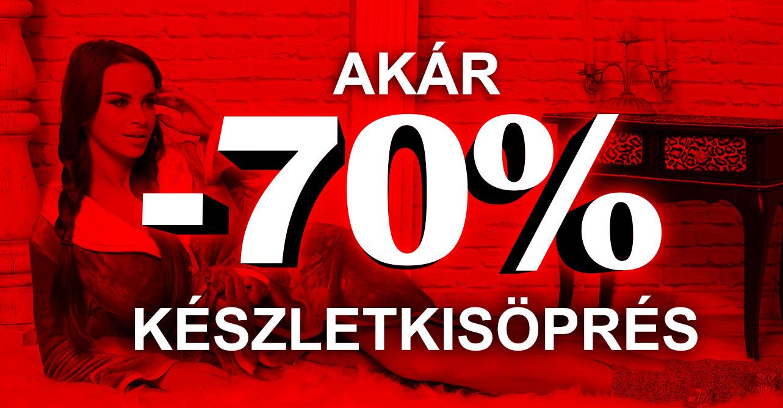 My77 Készletkisöprés -70%
